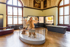 People Visit The Museum of Natural History (Naturhistorisches Museum) Stock Image