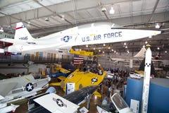 People visit nice Frontiers Flight Museum Dallas Royalty Free Stock Photos