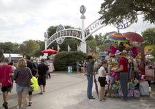State Fair Texas at city Dallas Fair Park Royalty Free Stock Image