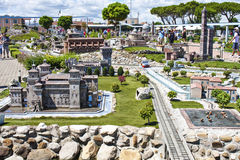 People Visiting Italy Mini Tiny Playground Stock Images