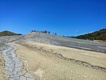 Mud Volcanoes royalty free stock photography