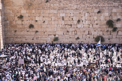 People at the Wailing Wall Stock Image