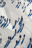 People walk along the Zeil Stock Images