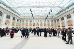 People walk in Gostini dvor Stock Image