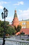 People walk near Kremlin Royalty Free Stock Photo