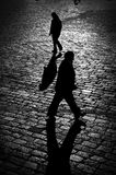 People walking Stock Image