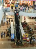 People are walking ans shopping at viviana mall, mumbai, india, 23rd September 2017 stock photo