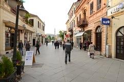 People walking around in Bitola Royalty Free Stock Photo