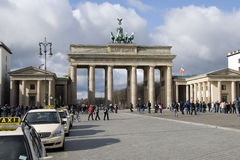 Berlin brandenburger tor Stock Images