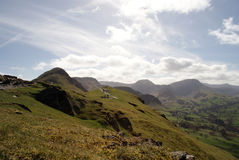 People Walking on Catbells