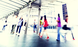 People Walking Commuter City Concept Royalty Free Stock Image