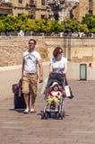 People walking in Cordoba Royalty Free Stock Image