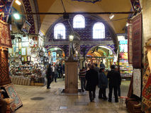 People in Grand Bazaar Royalty Free Stock Photography