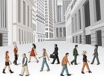 People walking Stock Images