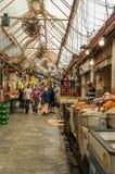 People walking in Jerusalem Market Stock Images
