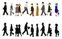 People walking Royalty Free Stock Photo