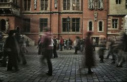 People walking in rush hour. Image of people walking in rush hour Stock Photography
