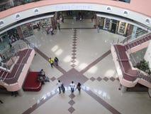 People walking in a shopping center of Puerto Ordaz city. Venezuela. April 22, 2017. Stock Image