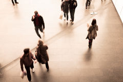 People walking Royalty Free Stock Photography
