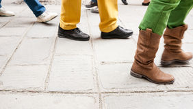 People walking by Stock Photography