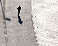 People walking at the street Stock Images