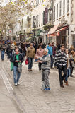 People walking on the street Stock Photo