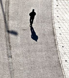 People walking at the street Royalty Free Stock Photos