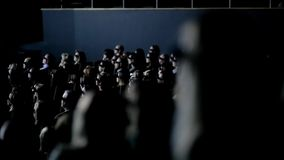 People Watch 3D Film stock footage