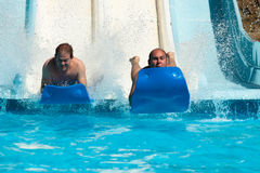 People at water park Royalty Free Stock Photos