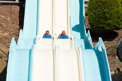 People at water park Stock Image