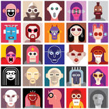 People Wearing Masks Royalty Free Stock Photos