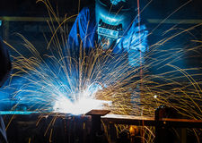 People welding industry Stock Photos