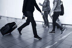 People With Luggage Royalty Free Stock Images