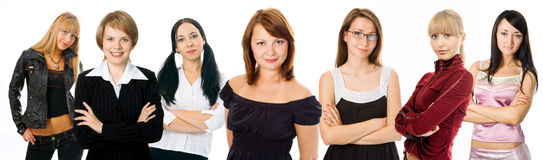 People woman group Stock Photography