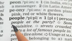 People word definition in english dictionary, country population, democracy