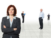 People at work Royalty Free Stock Photo