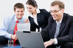 People at work Royalty Free Stock Image