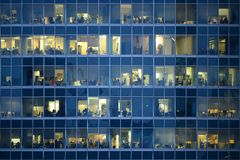 People work in an offices. Royalty Free Stock Photos