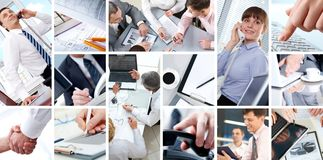 People working royalty free stock photos
