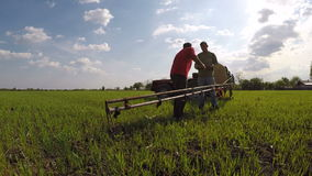 People working in agriculture Royalty Free Stock Photography