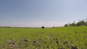 People working in agriculture stock footage