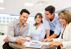People working as a team Royalty Free Stock Photos