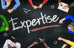 People Working and Expertise Concept Stock Photography