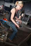 Glass Manufacturing Business stock image