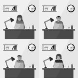 People working in the office Stock Photos