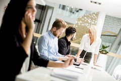 People working in the office Royalty Free Stock Photography