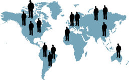 People of the world Stock Photo