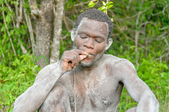 People of the World - African bushman Royalty Free Stock Images
