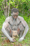 People of the World - African bushman Stock Photo