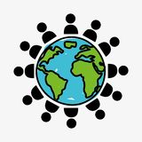 People world Stock Image